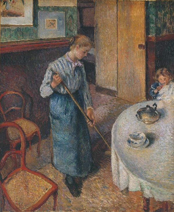 The Little Country Maid, 1882 by Camille Pissarro